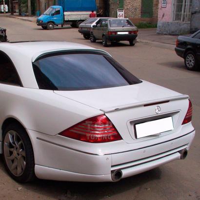 Задний бампер на Mercedes CL-Class W215