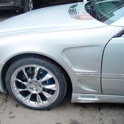 Крылья на Mercedes CL-Class W215