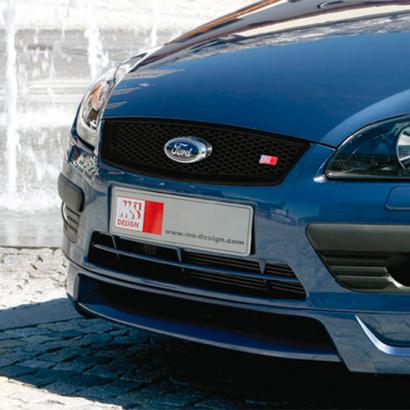 Накладка на передний бампер на Ford Focus 2