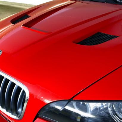 Капот - Тюнинг на BMW X6 E71