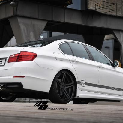 Диффузор на BMW 5 F10