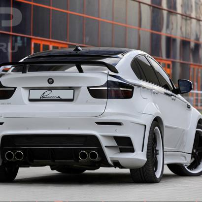 Задние расширители арок на BMW X6 E71