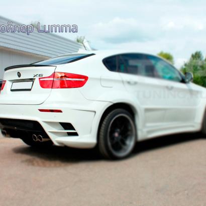 Лип - Спойлер на BMW X6 E71