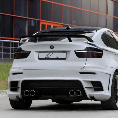 Накладка на пятую дверь на BMW X6 E71