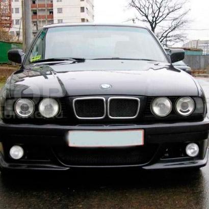 Передний бампер на BMW 5 E34