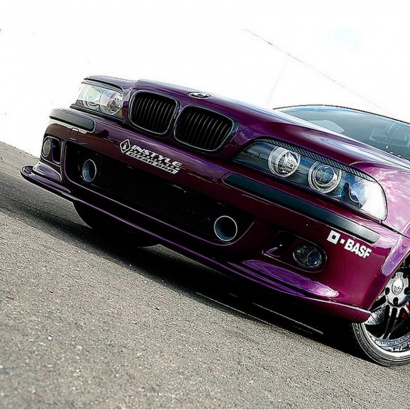 Элерон переднего бампера на BMW 5 E39