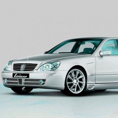 Тюнинг - обвес на Mercedes S-Class W220