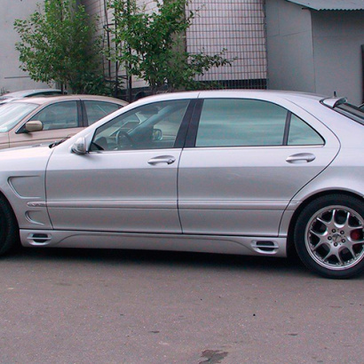 Пороги на Mercedes S-Class W220