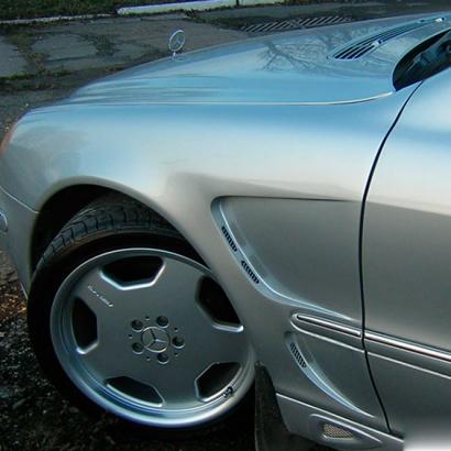 Крылья на Mercedes S-Class W220