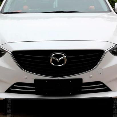 Молдинги воздухозаборника бампера на Mazda 6 GJ