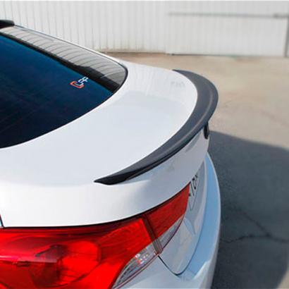 Лип-спойлер на Hyundai Elantra 5 (Avante MD)