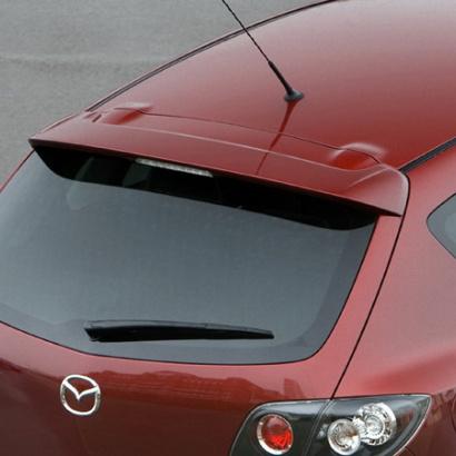 Спойлер крышки багажника на Mazda 3 BK