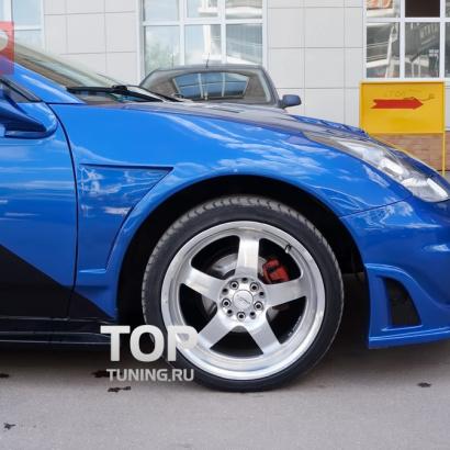 Крылья передние на Toyota Celica T23