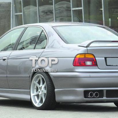 Юбка заднего бампера на BMW 5 E39