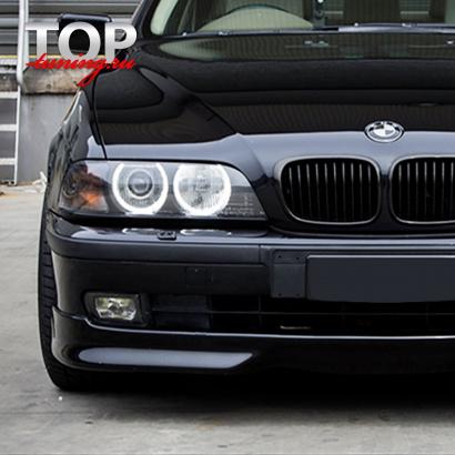 Юбка переднего бампера Zender OEM на BMW 5 E39