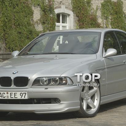 Юбка переднего бампера на BMW 5 E39
