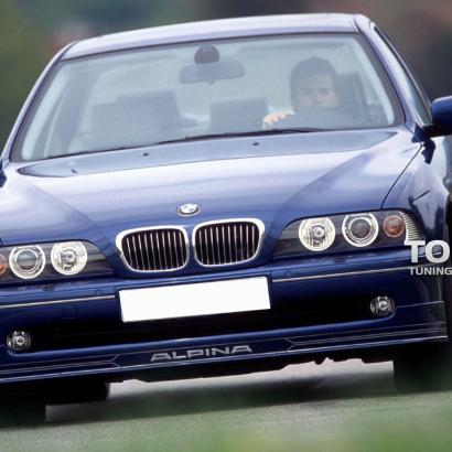 Накладка на передний бампер на BMW 5 E39