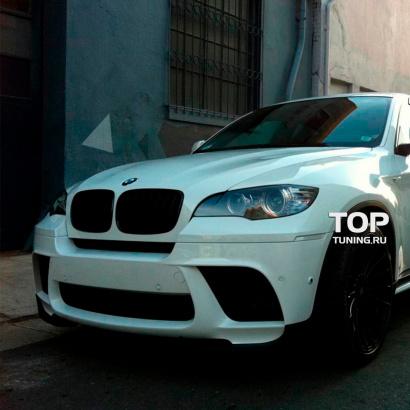 Передний бампер на BMW X6 E71