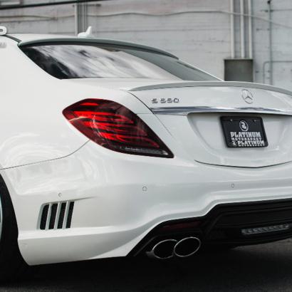 Задний бампер на Mercedes S-Class W222