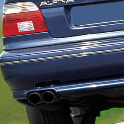 Окантовка глушителя на BMW 5 E39