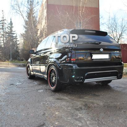 Накладки на двери на BMW X5 E53