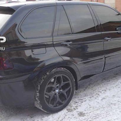 Тюнинг - Пороги на BMW X5 E53