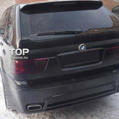 Задний бампер HTS на BMW X5 E53