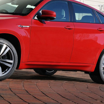 Тюнинг - Пороги  на BMW X6 E71