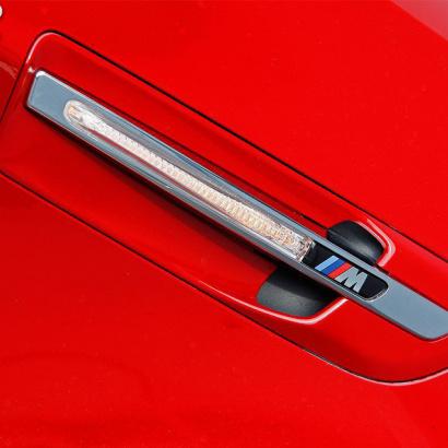 Накладки в передние крылья на BMW X6 E71