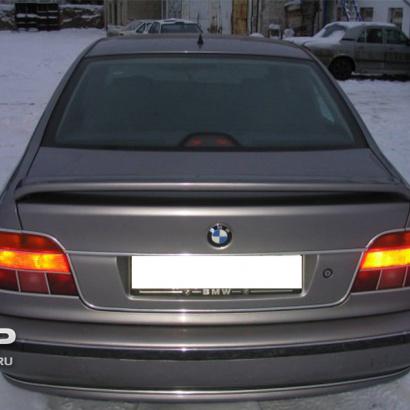Тюнинг -  Спойлер на BMW 5 E39