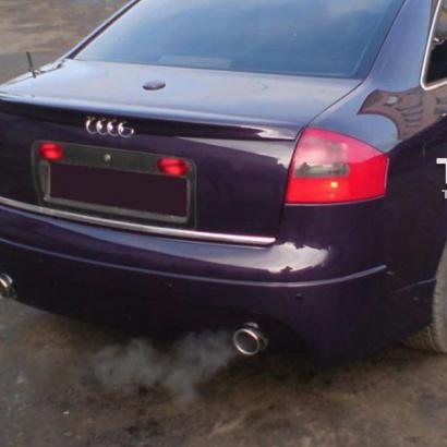 Юбка заднего бампера на Audi A6 C5