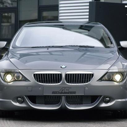Накладка на передний бампер на BMW 6 E63