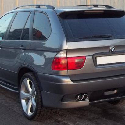 Задний бампер на BMW X5 E53
