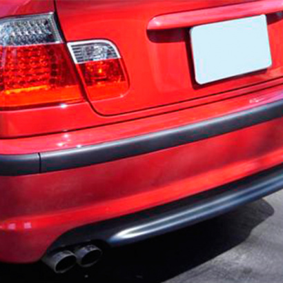 Задний бампер на BMW 3 E46