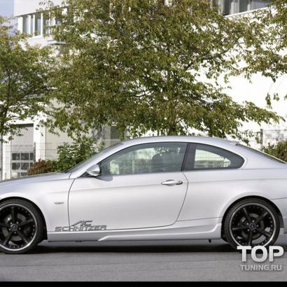 Накладки на пороги на BMW 3 E92