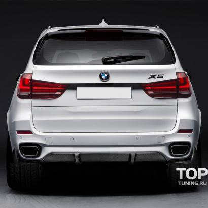 Диффузор заднего бампера на BMW X5 F15