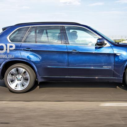 Тюнинг - Пороги на BMW X5 E70