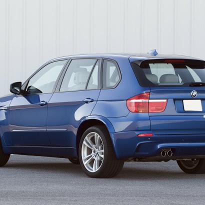 Расширители задних арок на BMW X5 E70