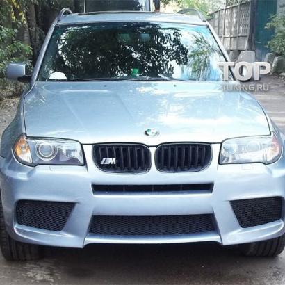 Передний бампер на BMW X3 E83