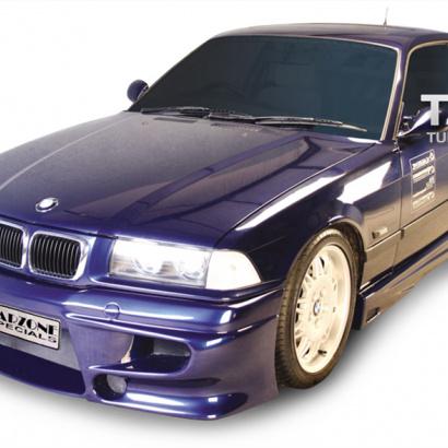 Передний бампер на BMW 3 E36