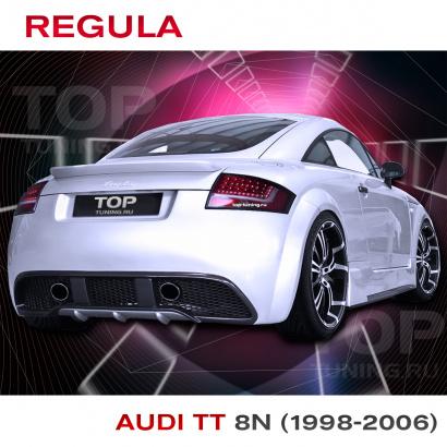 Задний бампер  на Audi TT 8N