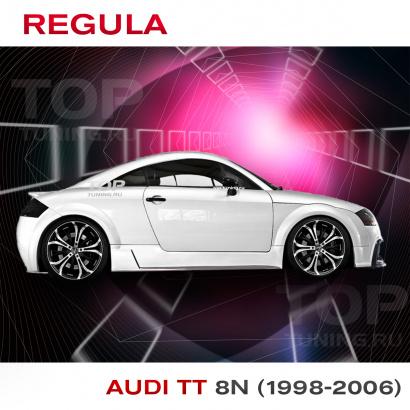 Тюнинг - Пороги на Audi TT 8N