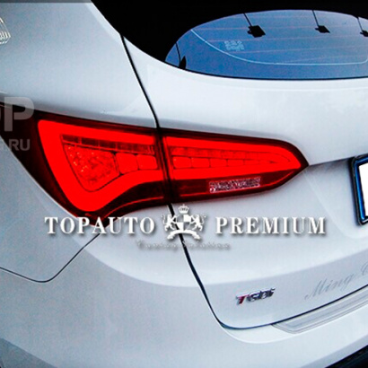 Задние тюнинг-фонари на Hyundai Santa Fe 3 (DM)