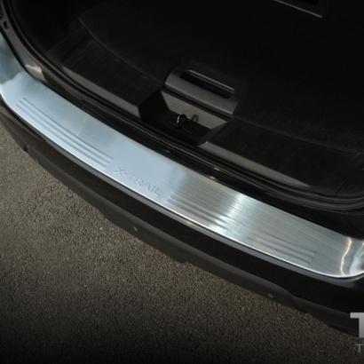 Защитная пластина заднего бампера на Nissan X-Trail T32