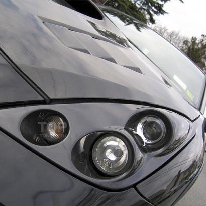 Передние фары на Toyota Celica T23