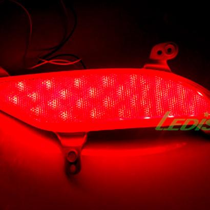 Задние противотуманные фонари на Hyundai Santa Fe 3 (DM)