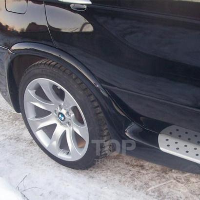 Расширители задних арок на BMW X5 E53