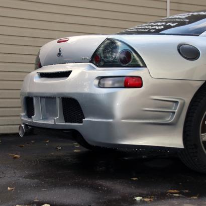 Задний бампер - Обвес Torque на Mitsubishi Eclipse 3 (D30)