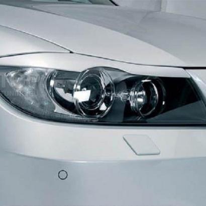 Реснички на фары на BMW 3 E90