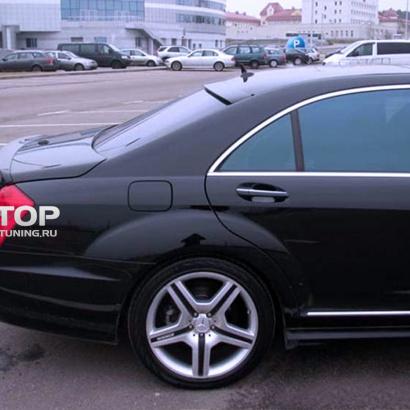 Козырек на заднее стекло на Mercedes S-Class W221